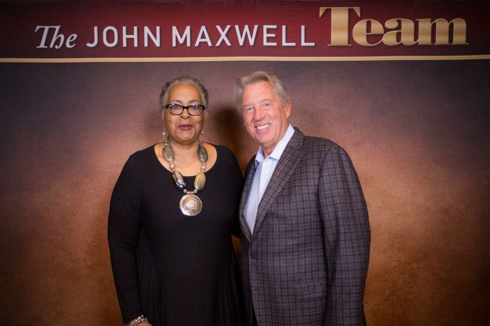 Dr Loretta Thompson and John Maxwell